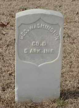 WASHINGTON (VETERAN UNION), GEORGE - Pulaski County, Arkansas | GEORGE WASHINGTON (VETERAN UNION) - Arkansas Gravestone Photos