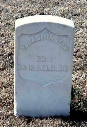WASHINGTON (VETERAN UNION), R - Pulaski County, Arkansas   R WASHINGTON (VETERAN UNION) - Arkansas Gravestone Photos