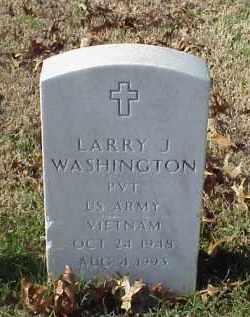WASHINGTON (VETERAN VIET), LARRY J - Pulaski County, Arkansas | LARRY J WASHINGTON (VETERAN VIET) - Arkansas Gravestone Photos