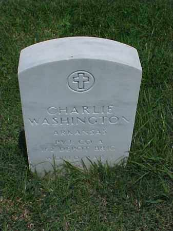 WASHINGTON (VETERAN WWI), CHARLIE - Pulaski County, Arkansas | CHARLIE WASHINGTON (VETERAN WWI) - Arkansas Gravestone Photos