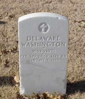 WASHINGTON (VETERAN WWI), DELAWARE - Pulaski County, Arkansas | DELAWARE WASHINGTON (VETERAN WWI) - Arkansas Gravestone Photos