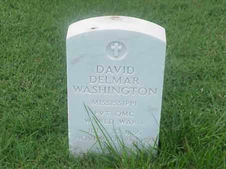WASHINGTON (VETERAN WWI), DAVID DELMAR - Pulaski County, Arkansas | DAVID DELMAR WASHINGTON (VETERAN WWI) - Arkansas Gravestone Photos