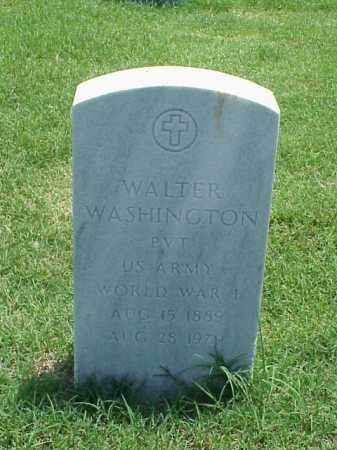 WASHINGTON (VETERAN WWI), WALTER - Pulaski County, Arkansas | WALTER WASHINGTON (VETERAN WWI) - Arkansas Gravestone Photos