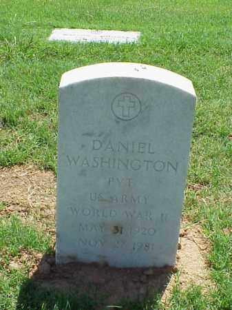 WASHINGTON (VETERAN WWII), DANIEL - Pulaski County, Arkansas | DANIEL WASHINGTON (VETERAN WWII) - Arkansas Gravestone Photos