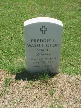 WASHINGTON (VETERAN WWII), FREDDIE L - Pulaski County, Arkansas | FREDDIE L WASHINGTON (VETERAN WWII) - Arkansas Gravestone Photos