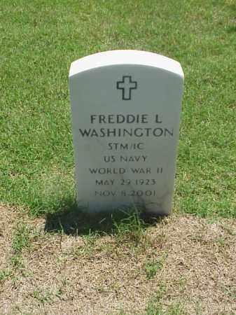 WASHINGTON (VETERAN WWII), FREDDIE L - Pulaski County, Arkansas | FREDDIE L WASHINGTON (VETERAN WWII) - Arkansas Gravestone Photos