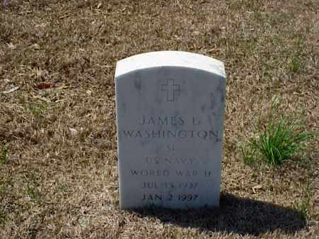 WASHINGTON (VETERAN WWII), JAMES L - Pulaski County, Arkansas | JAMES L WASHINGTON (VETERAN WWII) - Arkansas Gravestone Photos