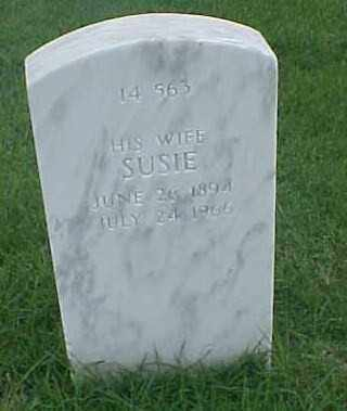 WATERHOUSE, SUSIE - Pulaski County, Arkansas | SUSIE WATERHOUSE - Arkansas Gravestone Photos