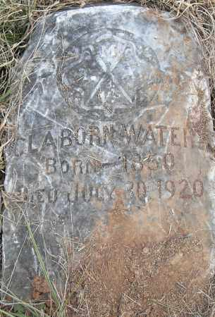 WATERS, CLAYBORN - Pulaski County, Arkansas | CLAYBORN WATERS - Arkansas Gravestone Photos
