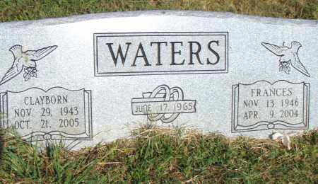 WATERS, CLAYBORN - Pulaski County, Arkansas | CLAYBORN WATERS - Arkansas Gravestone Photos