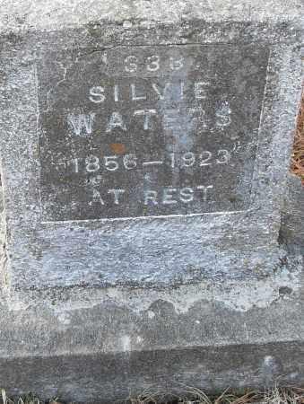 WATERS, SILVIE - Pulaski County, Arkansas | SILVIE WATERS - Arkansas Gravestone Photos