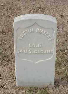 WATERS (VETERAN UNION), AUSTIN - Pulaski County, Arkansas | AUSTIN WATERS (VETERAN UNION) - Arkansas Gravestone Photos