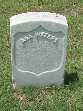 WATERS (VETERAN UNION), ASA - Pulaski County, Arkansas | ASA WATERS (VETERAN UNION) - Arkansas Gravestone Photos