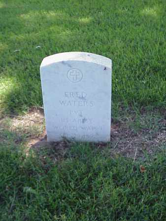 WATERS (VETERAN WWI), FRED - Pulaski County, Arkansas | FRED WATERS (VETERAN WWI) - Arkansas Gravestone Photos