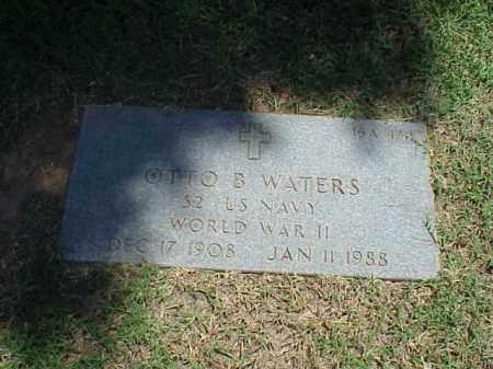 WATERS (VETERAN WWII), OTTO B - Pulaski County, Arkansas | OTTO B WATERS (VETERAN WWII) - Arkansas Gravestone Photos