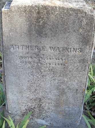 WATKINS, ARTHER E - Pulaski County, Arkansas | ARTHER E WATKINS - Arkansas Gravestone Photos