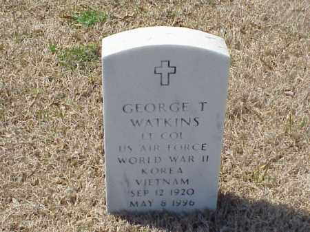 WATKINS (VETERAN 3 WARS), GEORGE THOMAS - Pulaski County, Arkansas | GEORGE THOMAS WATKINS (VETERAN 3 WARS) - Arkansas Gravestone Photos
