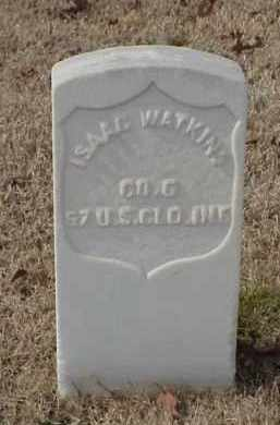 WATKINS (VETERAN UNION), ISAAC - Pulaski County, Arkansas | ISAAC WATKINS (VETERAN UNION) - Arkansas Gravestone Photos