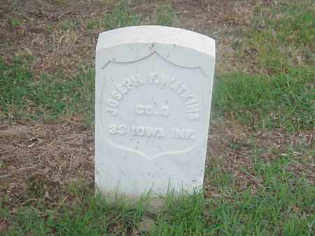 WATKINS (VETERAN UNION), JOSEPH F - Pulaski County, Arkansas | JOSEPH F WATKINS (VETERAN UNION) - Arkansas Gravestone Photos