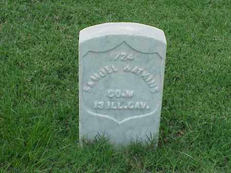 WATKINS (VETERAN UNION), SAMUEL - Pulaski County, Arkansas | SAMUEL WATKINS (VETERAN UNION) - Arkansas Gravestone Photos