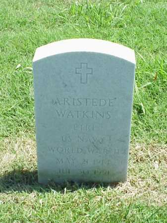 WATKINS (VETERAN WWII), ARISTEDE - Pulaski County, Arkansas | ARISTEDE WATKINS (VETERAN WWII) - Arkansas Gravestone Photos