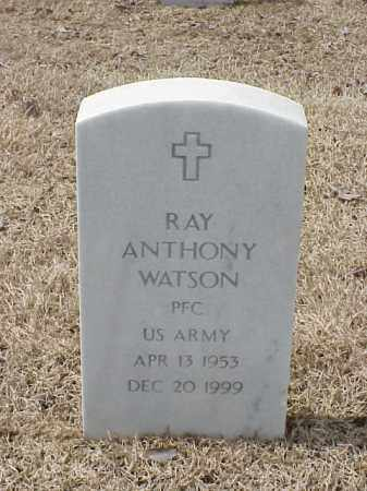 WATSON  (VETERAN), RAY ANTHONY - Pulaski County, Arkansas | RAY ANTHONY WATSON  (VETERAN) - Arkansas Gravestone Photos