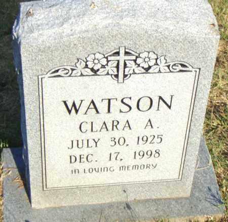 WATSON, CLARA  A. - Pulaski County, Arkansas | CLARA  A. WATSON - Arkansas Gravestone Photos
