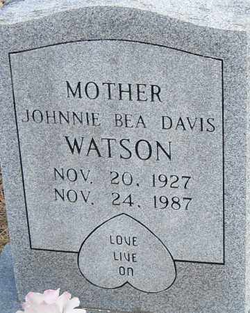 WATSON, JOHNNIE BEA - Pulaski County, Arkansas | JOHNNIE BEA WATSON - Arkansas Gravestone Photos