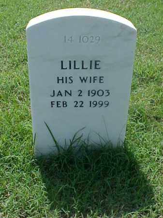 WATSON, LILLIE - Pulaski County, Arkansas | LILLIE WATSON - Arkansas Gravestone Photos