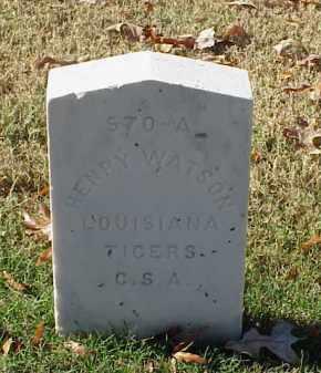 WATSON (VETERAN CSA), HENRY - Pulaski County, Arkansas | HENRY WATSON (VETERAN CSA) - Arkansas Gravestone Photos