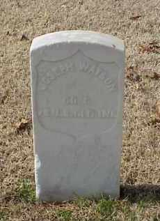 WATSON (VETERAN UNION), JOSEPH - Pulaski County, Arkansas | JOSEPH WATSON (VETERAN UNION) - Arkansas Gravestone Photos