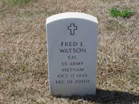 WATSON (VETERAN VIET), FRED L - Pulaski County, Arkansas | FRED L WATSON (VETERAN VIET) - Arkansas Gravestone Photos