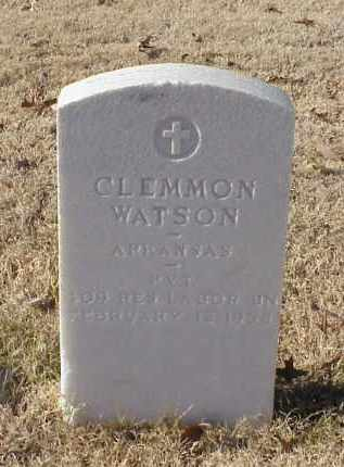 WATSON (VETERAN WWI), CLEMMON - Pulaski County, Arkansas | CLEMMON WATSON (VETERAN WWI) - Arkansas Gravestone Photos