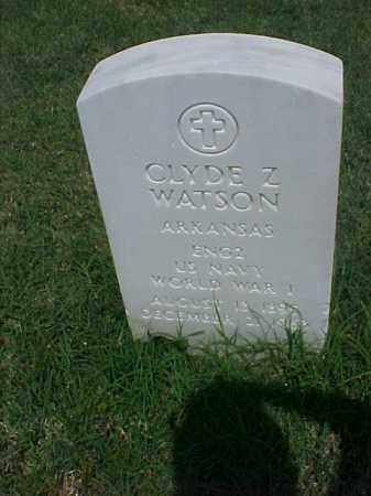 WATSON (VETERAN WWI), CLYDE Z - Pulaski County, Arkansas | CLYDE Z WATSON (VETERAN WWI) - Arkansas Gravestone Photos