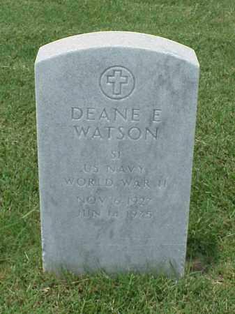 WATSON (VETERAN WWII), DEANE E - Pulaski County, Arkansas | DEANE E WATSON (VETERAN WWII) - Arkansas Gravestone Photos