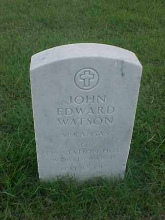 WATSON (VETERAN WWII), JOHN EDWARD - Pulaski County, Arkansas | JOHN EDWARD WATSON (VETERAN WWII) - Arkansas Gravestone Photos
