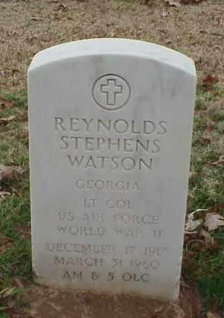 WATSON (VETERAN WWII), REYNOLDS STEPHENS - Pulaski County, Arkansas | REYNOLDS STEPHENS WATSON (VETERAN WWII) - Arkansas Gravestone Photos