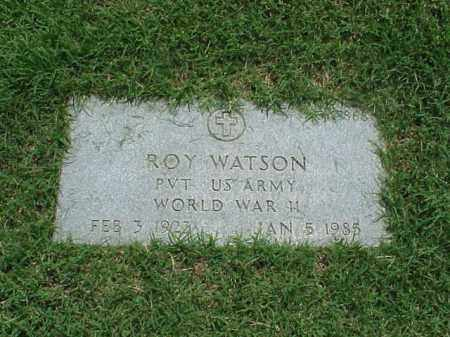 WATSON (VETERAN WWII), ROY - Pulaski County, Arkansas | ROY WATSON (VETERAN WWII) - Arkansas Gravestone Photos