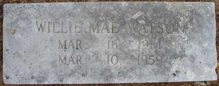 WATSON, WILLIE MAE - Pulaski County, Arkansas | WILLIE MAE WATSON - Arkansas Gravestone Photos
