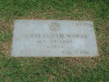 WAWAK (VETERAN KOR), JAMES LLOYD - Pulaski County, Arkansas | JAMES LLOYD WAWAK (VETERAN KOR) - Arkansas Gravestone Photos