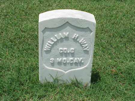 WAY (VETERAN UNION), WILLIAM - Pulaski County, Arkansas | WILLIAM WAY (VETERAN UNION) - Arkansas Gravestone Photos