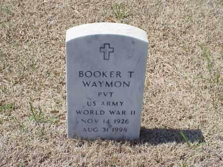 WAYMON (VETERAN WWII), BOOKER T - Pulaski County, Arkansas | BOOKER T WAYMON (VETERAN WWII) - Arkansas Gravestone Photos