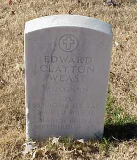 WEAST (VETERAN WWII), EDWARD CLAYTON - Pulaski County, Arkansas | EDWARD CLAYTON WEAST (VETERAN WWII) - Arkansas Gravestone Photos