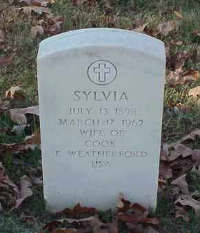 WEATHERFORD, SYLVIA - Pulaski County, Arkansas | SYLVIA WEATHERFORD - Arkansas Gravestone Photos