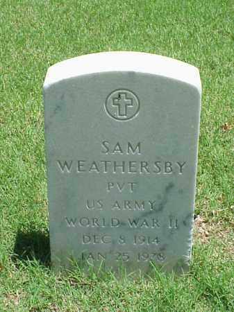 WEATHERSBY (VETERAN WWII), SAM - Pulaski County, Arkansas | SAM WEATHERSBY (VETERAN WWII) - Arkansas Gravestone Photos
