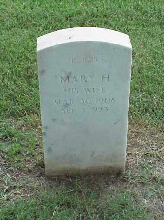 WEAVER, MARY H - Pulaski County, Arkansas   MARY H WEAVER - Arkansas Gravestone Photos