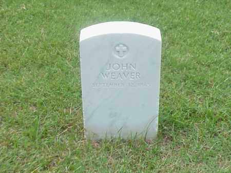 WEAVER, JOHN - Pulaski County, Arkansas | JOHN WEAVER - Arkansas Gravestone Photos