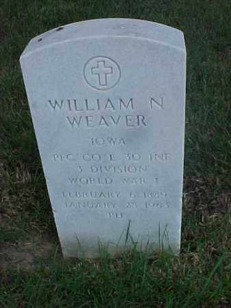 WEAVER (VETERAN WWI), WILLIAM N - Pulaski County, Arkansas | WILLIAM N WEAVER (VETERAN WWI) - Arkansas Gravestone Photos