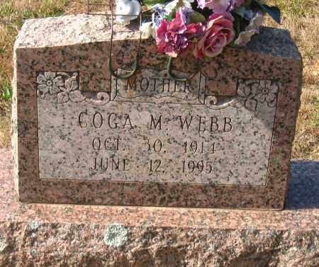 WEBB, COGA M. - Pulaski County, Arkansas | COGA M. WEBB - Arkansas Gravestone Photos