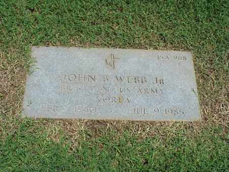 WEBB, JR (VETERAN KOR), JOHN B - Pulaski County, Arkansas | JOHN B WEBB, JR (VETERAN KOR) - Arkansas Gravestone Photos